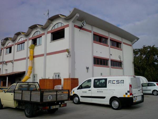 Remodelação de balneários