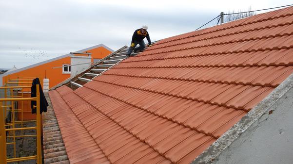 Construção de Telhado