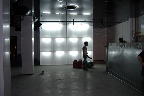 Remodelação de espaço noturno