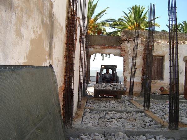 Construção de edifício, ATL em Alcochete